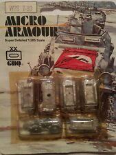 GHQ 1:285 Main Battle Tank Micro Armour Metal Kit #W28 T-80 (NOS)