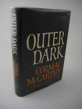 SIGNED Cormac McCarthy OUTER DARK 1st Edition AUTOGRAPH Fiction NOVEL First Prnt