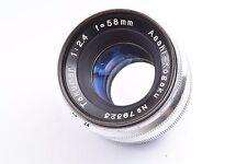 Asahi Kogaku Takumar 58mm f2.4 f/2.4 for asahi flex very good