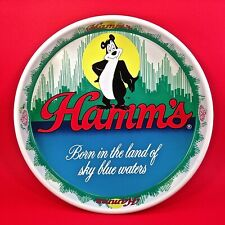 Vintage Hamm's Beer Tray 1981 Olympia Beer collectable Sky Blue Waters VERY NICE