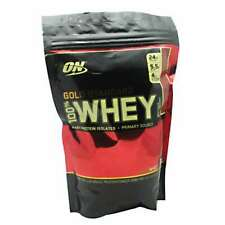 Optimum Nutrition Gold Standard 100% Whey Protein Powder, 1 lb VANILLA ICE CREAM
