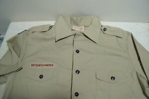 Scouts BSA Mens Shirt LARGE Official Old Style  NO PATCHES