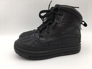Nike ACG Woodside Duck Boots Hiking Boots Black 524873-001 Size 12C