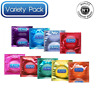 Durex Assorted Pleasure Invisible Real Feel Extra Ultra Thin 24 Bulk Buy Condoms