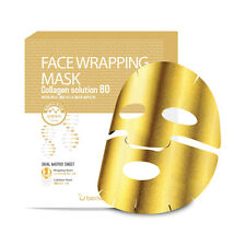 [BERRISOM] Face Wrapping Mask Collagen Solution 80 - 1pack (5pcs) ROSEAU
