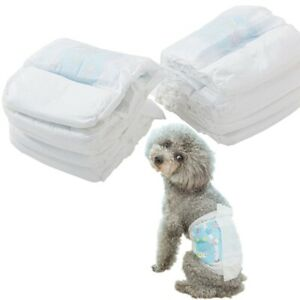 1PACK Disposable Dog Diapers Cartoon All Absorb Pet Pants Soft S-XL Breathable