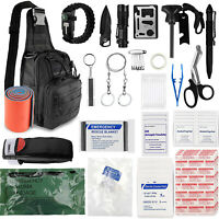 Hiking Camping Travel Tactical Bag First Aid SOS EDC Tools Emergency Supplies