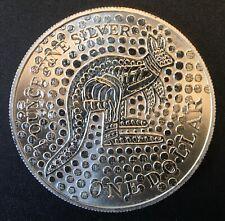 "Australia - Silver 1 Dollar Coin - 1 Oz. - ""Australian Kangaroo"" - 2001 - UNC"