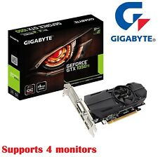 Gigabyte Nvidia Geforce GTX1050 Ti 4GB Graphic Card OC 4K Video Low Profile HDMI