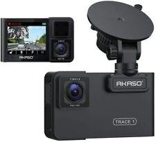 """2"""" Akaso Dashcam 1080p Full HD DVR dual auto cámara visión nocturna 170 ° gran angular"""