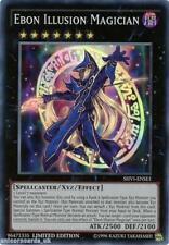 SHVI-ENSE1 Ebon Illusion Magician Super Rare Limited Edition Mint YuGiOh Card