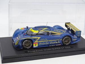 Ebbro 1/43 - Privee Zurich Shiden Super GT 2006