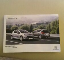 PEUGEOT 207 Owners Handbook. 2009 To 2013.  Old Stock