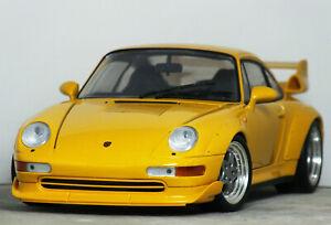 1:18 Vintage UT Models PORSCHE 911 993 GT2 (Speed Yellow 'STREET' RARE Turbo HTF