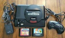 Sega GENESIS Model 1 16 BIT Console System w/ games CLEANED, TESTED & WORKING