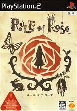 Used PS2 Rule of Rose Japan Import