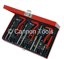 88pc Thread Repair Helicoil VCoil Compatible Wire Insert Kit M6-M10 +Tap +Drills