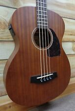 New Ibanez PCBE12MH Acoustic Electric Bass Mahogany Open Pore Natural