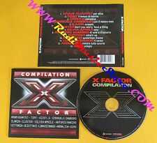CD Compilation  X-Factor Compilation ANNALISA ARAM QUARTET no mc vhs lp mc(C12)