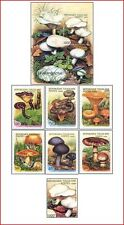 TOG99022 Mushrooms 7 stamps and block MNH TOGO 1999