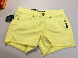 Women's Silver Jeans Toni Flap Yellow Free Shipping