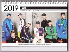 K-pop Exo Desktop Calendar Calendar In 2018 Around Chanyeol Bakhyuns Elecmit Album With Photos Grade Products According To Quality Men's Accessories
