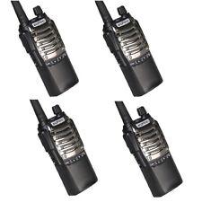 2 Paris Baofeng 8D UHF Two Way Radio 4 in 1 Kit Intercom Wireless Communication