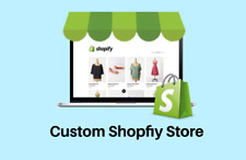Shopify Custom store with your personal products