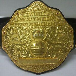 New Big Gold Textured Heavyweight Adult Wrestling Championship Title Belt 6.8lbs