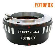 EXA-M43 for Exakta Lens to Micro 4/3 M4/3 M43 Mount Adapter GF3 GX1 Adapter Ring