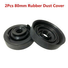 2X Rubber 80mm Car Headlight Dust Housing Cover Kit For HID LED Bulb Seal Cap