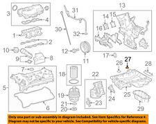 TOYOTA OEM 16-18 Tacoma 3.5L-V6 Engine-Upper Oil Pan Gasket 121510P010