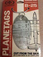 North American B-25 Mitchell Plane Tag / Planetags - Free Shipping