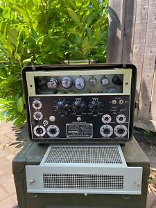 Signal Corps amp AM-424 Bell and Howell Filmosound guitar tube amplifier project
