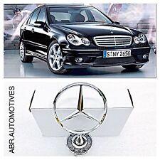 Mercedes C E S CLK Class Bonnet Emblem Bonnet Star W202 W203 W204 W208 W210 W211