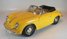 Bburago 1/18 Porsche 356B Cabriolet (1961) gelb OVP #2668