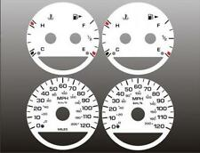 2000-2005 Dodge Neon Dash Cluster White Face Gauges 00-05