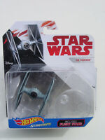 NEW HTF STAR WARS HOT WHEELS STARSHIPS TIE FIGHTER ( THE LAST JEDI ERA ) MIP!