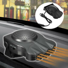 Black 2 in1 Car Portable Ceramic Heating Cooling Heater Fan Defroster Demister