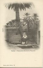 CARTE POSTALE / POSTCARD / ALGERIE / BISKRA FABRICATION DE VIN DE PALMIERS
