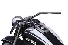 Guidon Lucas Flyer-bar noir avec ABE pour Honda VT 1100 C