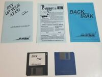 Atari Backtrak Copying Utility Vintage Computer Software Disks Manual Back Trak