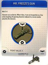 Heroclix Batman - #s100 MR FREEZE 'S GUN-Object
