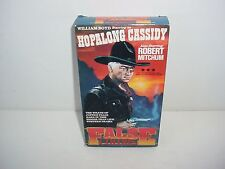 False Colors Hopalong Cassidy William Boyd VHS Video Tape Movie