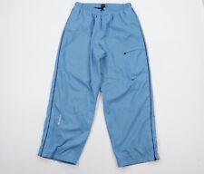 Vtg Nike Mens 2XL Travis Scott Mini Swoosh Lined Athletic Pants Carolina Blue