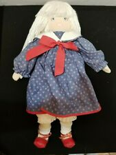 "Vintage 1985 Dolls By Pauline 18"" Ragdoll All Original Clothes A Schmid Co"