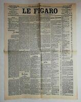 N892 La Une Du Journal Le Figaro 20 Janvier 1903 misère bretonne