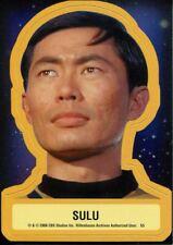 Star Trek TOS 40th Anniversary Series 2 Star Trek Stickers Chase Card S5