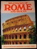 SPLENDORS OF ROME AND VATICAN By TULLIO POLIDORI