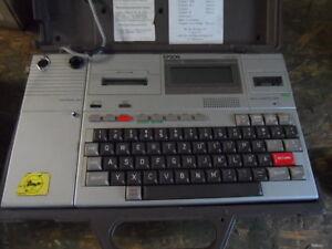 Epson Hx 20 Computer Notebook  guter Zustand mit Expansion Unit